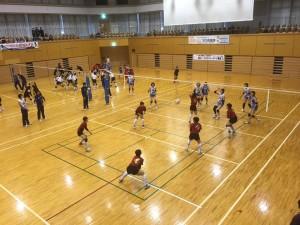 岡山シーガルズのバレーボール教室-2