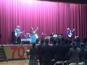 特別支援学校の学習発表会、野村高校文化祭-2